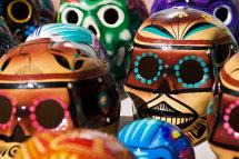 Mexican Skulls, Santa Fe