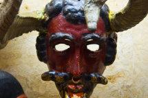 Devil Mask, Folk Art Museum, Santa Fe