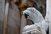 Lion, Diocletian's Palace, Split