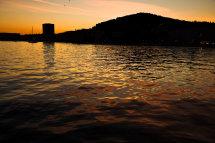 Sunset at Marjan Hill, Split