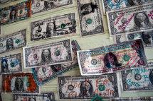Dollar Bill Wallpaper, Marathon