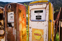 Gas Pump Museum, on the road to Taos