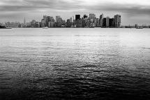 Manhattan, from Ellis Island