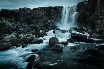 Þingvellir Waterfall