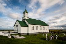 Gardur Church - Reykjanes Peninsula