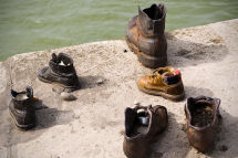 Shoes on the River - Jewish Memorial