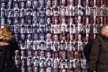 Ellis Island Flag of Many Faces