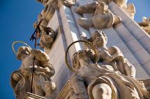 Matthias Statues