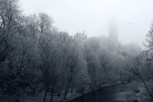 Glasgow University - Foggy Morning