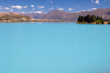 Blue Lake - On route to Mt. Cook