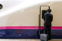 Shinkansen driver starting shift