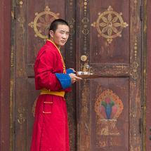 Gandan monk