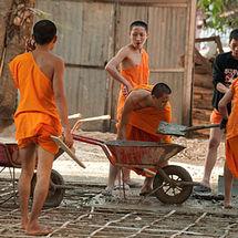 Concrete monks