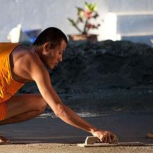 Smoothing monk