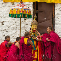 Rinpoche at rest