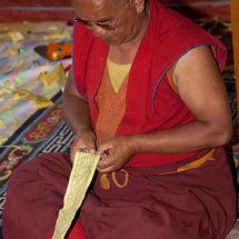 Rolling up prayers