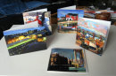 Cards with images of Tyneside
