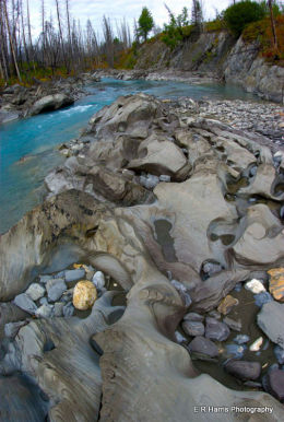 Meltwater Riverbed BC