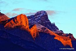 Sunrise Canmor BC
