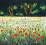 Summer Poppies and Daisies SOLD