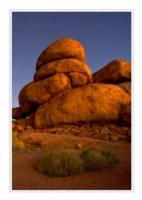 Devil's Marbles at twilight, Northern Territory.