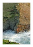 Miner's cottage ruins, North Cornish Coast.