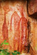 Aboriginal Art, Nitmiluk, (Katherine Gorge) NT