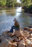 Julia, at Suttor River, Central Qld
