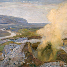 Frederick Varley - Gas Chamber at Seaford