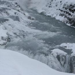 Gullfoss (Golden Falls) Waterfall, Iceland