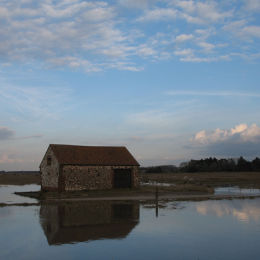 High Tide, Thornham Harbour, North Norfolk