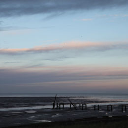 Snettisham at Dawn, North Norfolk