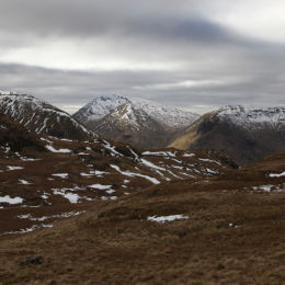 View from Angletarn Pikes, looking towards Hart Crag and Fairfield