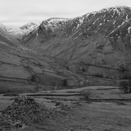 View towards Hart Crag and Fairfield