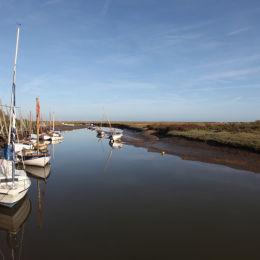 Blakeney Harbour, North Norfolk