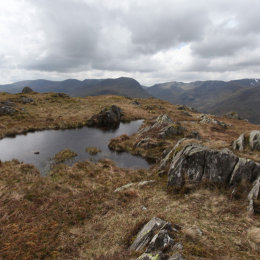 Tarn on Place Fell, Patterdale, Lake District