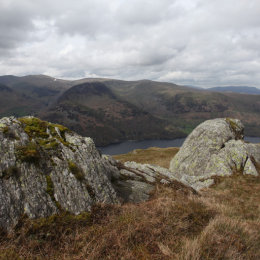 View from Place Fell across Ullswater, Patterdale, Lake District