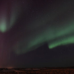 Northern Lights (Aurora Borealis), Reykjavik, Iceland