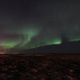 Northern Lights (Aurora Borealis), Reykjavik area, Iceland