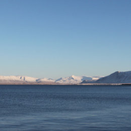 View from Reykjavik harbour, Iceland