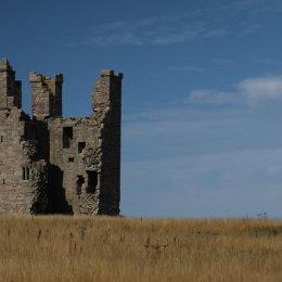 Lilbum Tower, Dunstanburgh Castle, Northumbria