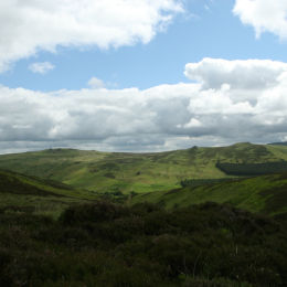 Harthope Valley, The Cheviot, Northumbria