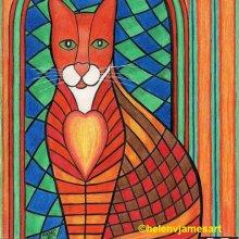 'PATCHWORK KITTY CAT JASMINE'
