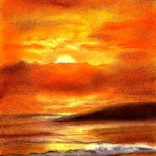 'SUNSET' - SOLD