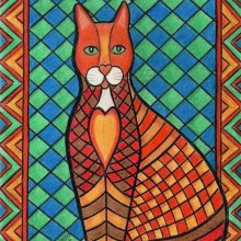 'PATCHWORK KITTY CAT MILLY-KARA'