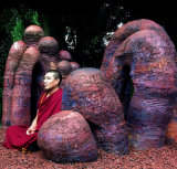 14 Buddhist Monk with-Earth