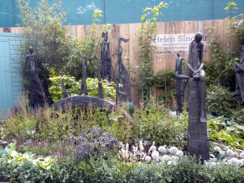 Helen's Chelsea Flower Show stand 2014.  Stand designed/built by Will Durkan