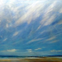 167-Sea and Sky 30x24in oil