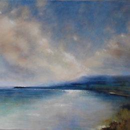 204-Chalk Cliffs Dorset 40x30in oil