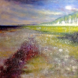 287-Sewerby Cliffs 40x30in oil